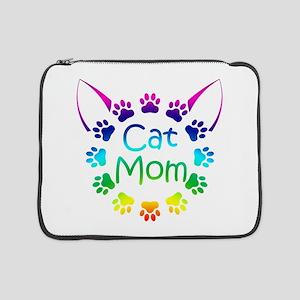 """Cat Mom"" 15"" Laptop Sleeve"