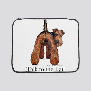 "Airedale Terrier Talk 15"" Laptop Sleeve"