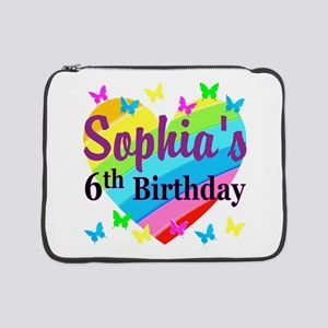"""PERSONALIZED 6TH 15"""" Laptop Sleeve"""