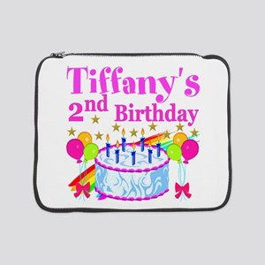 "2ND BIRTHDAY 15"" Laptop Sleeve"
