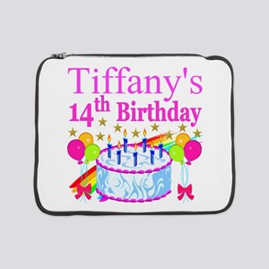 "14TH BIRTHDAY 15"" Laptop Sleeve"