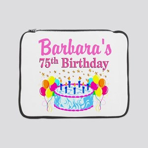 "75TH CELEBRATION 15"" Laptop Sleeve"