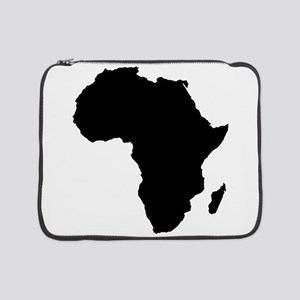 "African Continent_Large 15"" Laptop Sleeve"