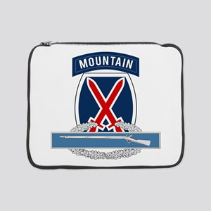 "10th Mountain CIB 15"" Laptop Sleeve"