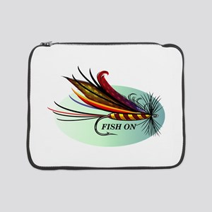 """Fish On 15"""" Laptop Sleeve"""