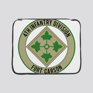 """4th Infantry post 15"""" Laptop Sleeve"""