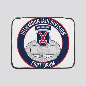 "10th Mountain CFMB 15"" Laptop Sleeve"