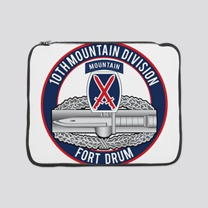 "10th Mountain CAB 15"" Laptop Sleeve"