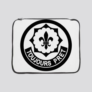 """2nd Armored Cavalry 15"""" Laptop Sleeve"""