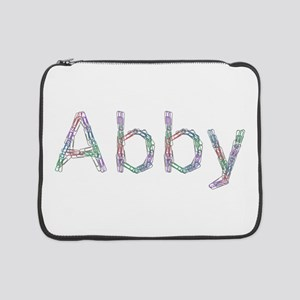 Abby Paperclips 15 Laptop Sleeve