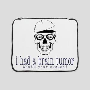 "Brain Tumor Excuse 15"" Laptop Sleeve"