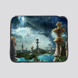 """Chess Relics 15"""" Laptop Sleeve"""