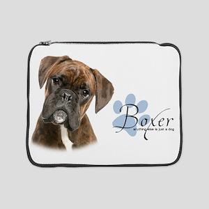 "Boxer Puppy 15"" Laptop Sleeve"