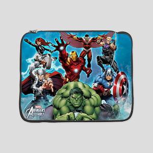 "Avengers Assemble Team 15"" Laptop Sleeve"