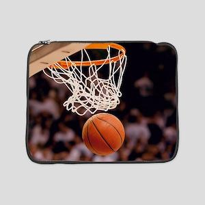"""Basketball Scoring 15"""" Laptop Sleeve"""
