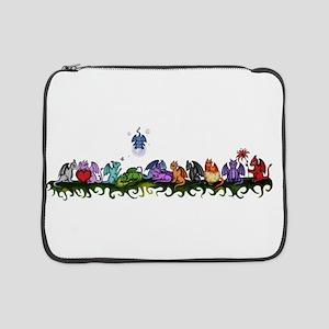 "many cute Dragons 15"" Laptop Sleeve"
