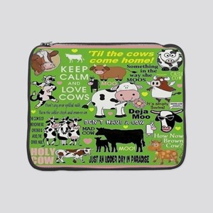 "Cows 15"" Laptop Sleeve"