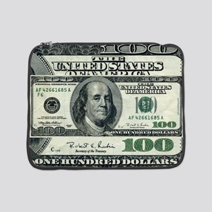 "100 Dollar Bill 15"" Laptop Sleeve"