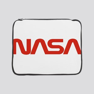 "NASA Worm Logo 15"" Laptop Sleeve"