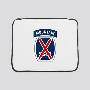 "10th Mountain 15"" Laptop Sleeve"