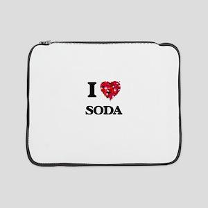"""I love Soda 15"""" Laptop Sleeve"""