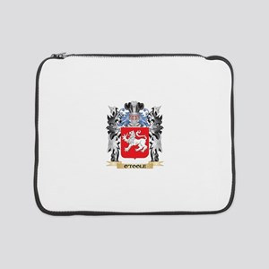 """O'Toole Coat of Arms - Family Cr 15"""" Laptop Sleeve"""