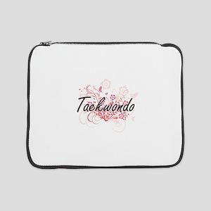 "Taekwondo Artistic Design with F 15"" Laptop Sleeve"