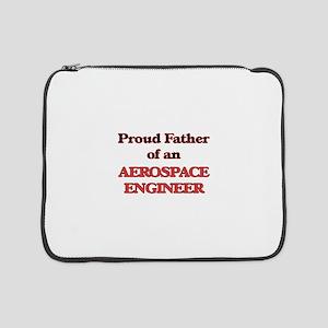 "Proud Father of a Aerospace Engi 15"" Laptop Sleeve"