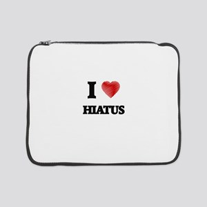 "I love Hiatus 15"" Laptop Sleeve"