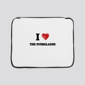 "I love The Everglades 15"" Laptop Sleeve"