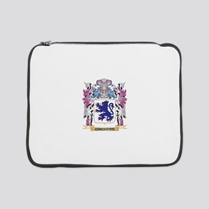 "Crichton Coat of Arms (Family Cr 15"" Laptop Sleeve"