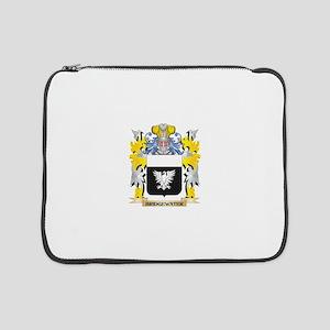 "Bridgewater Coat of Arms - Famil 15"" Laptop Sleeve"