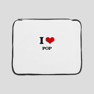 "I Love Pop 15"" Laptop Sleeve"