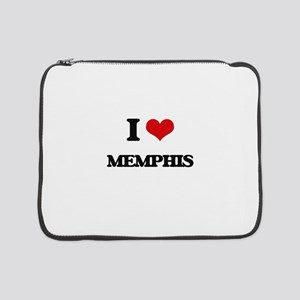 "I Love Memphis 15"" Laptop Sleeve"