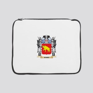 """Baird Coat of Arms - Family Cres 15"""" Laptop Sleeve"""