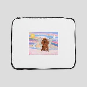 "Angel/Poodle (Aprict Toy/Min) 15"" Laptop Slee"
