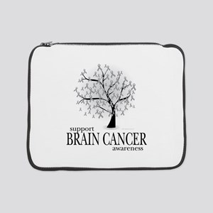 "Brain-Cancer-Tree 15"" Laptop Sleeve"