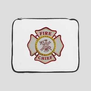 "Fire Chief Maltese 15"" Laptop Sleeve"