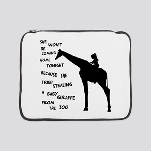 "Giraffenapping 15"" Laptop Sleeve"