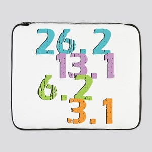 "runner distances 17"" Laptop Sleeve"