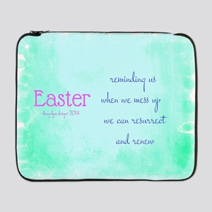 "Easter Renew 17"" Laptop Sleeve"