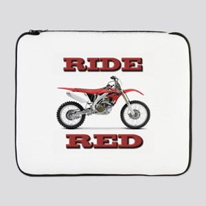 "RideRed 08 17"" Laptop Sleeve"