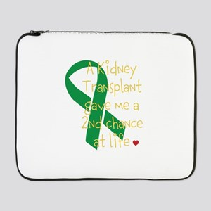 """2nd Chance At Life (Kidney) 17"""" Laptop Sleeve"""