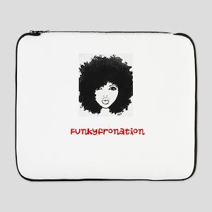 "funkyfronation tshirt 17"" Laptop Sleeve"