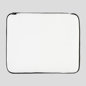 "Distressed Autumn Quote design w 17"" Laptop Sleeve"