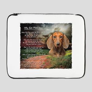 "godmadedogs 17"" Laptop Sleeve"