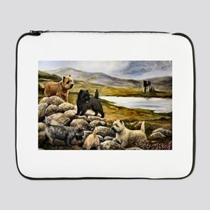 "Cairn Terrier 17"" Laptop Sleeve"