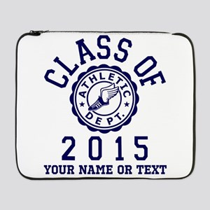 """Class Of 2015 Track and Field 17"""" Laptop Sleeve"""