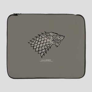 "Game of Thrones House Stark 17"" Laptop Sleeve"