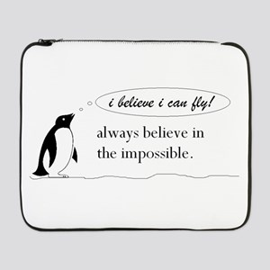 "penguinyy! 17"" Laptop Sleeve"